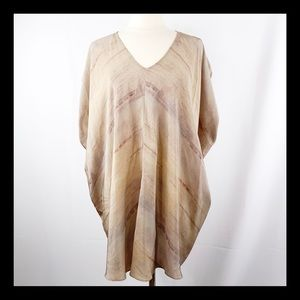 EILEEN FISHER Silk Tunic SZ S/P